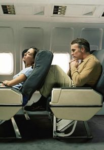 Fight on plane over reclining seats